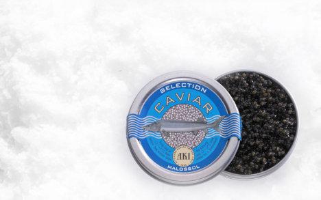 Caviar. Den bedste caviar