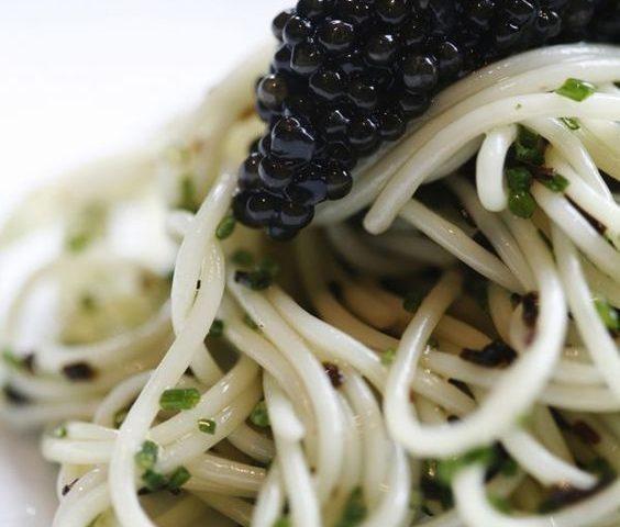 Caviar med Pasta
